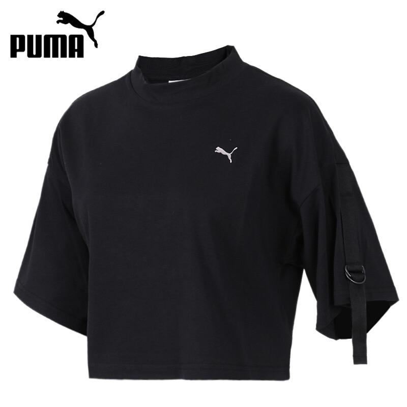 Original New Arrival 2018 PUMA En Pointe Cropped Tee Womens T-shirts short sleeve Sportswear ...