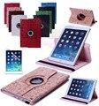 360 Маленькая Ведьма PU Кожаный Вращающийся Tablet Case Смарт Стенд для apple iPad air 2 шестого поколения для A1566'A1567
