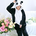 Pyjamas Women Panda Onesies for Adults Sleep Lounge Pajamas Panda Sleepwear Flannel Animal Pajamas One Piece