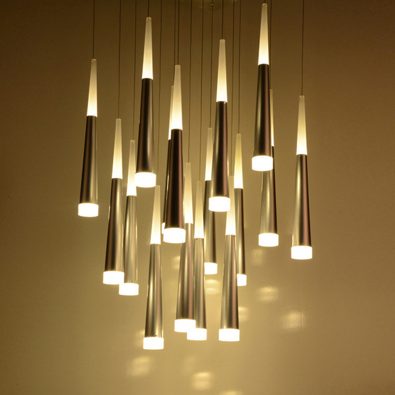 Modern pendant lights for kitchen living dining room