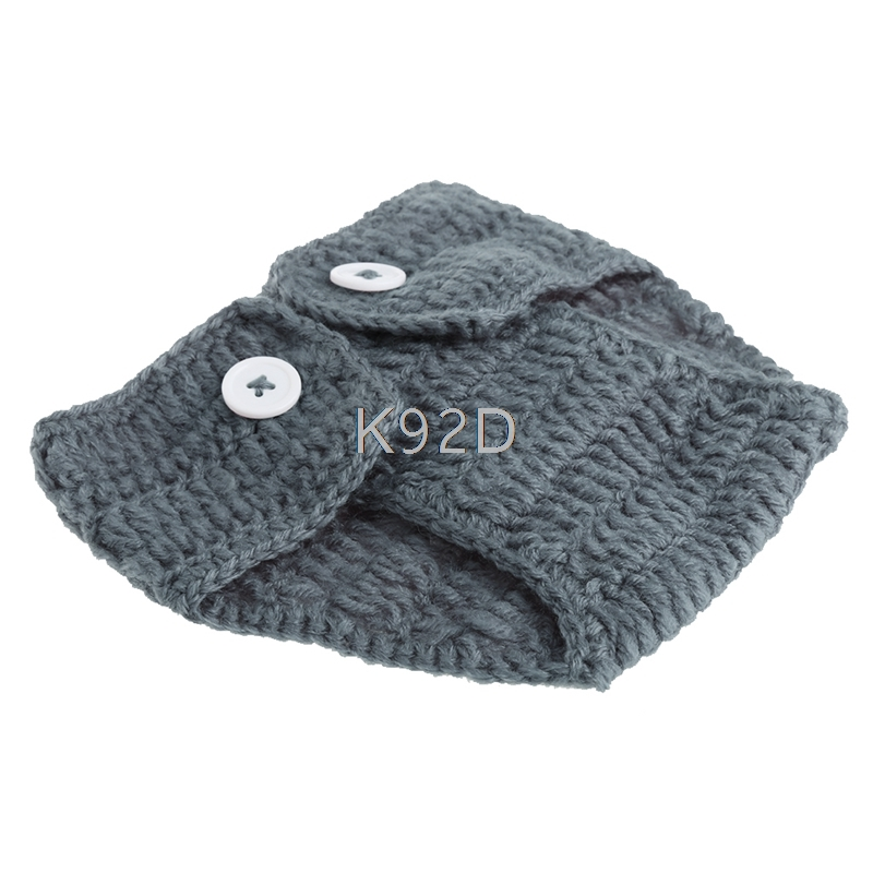 Newborn Baby Elephant Knit Crochet Hat Costume Photo Photography Prop Outfit New