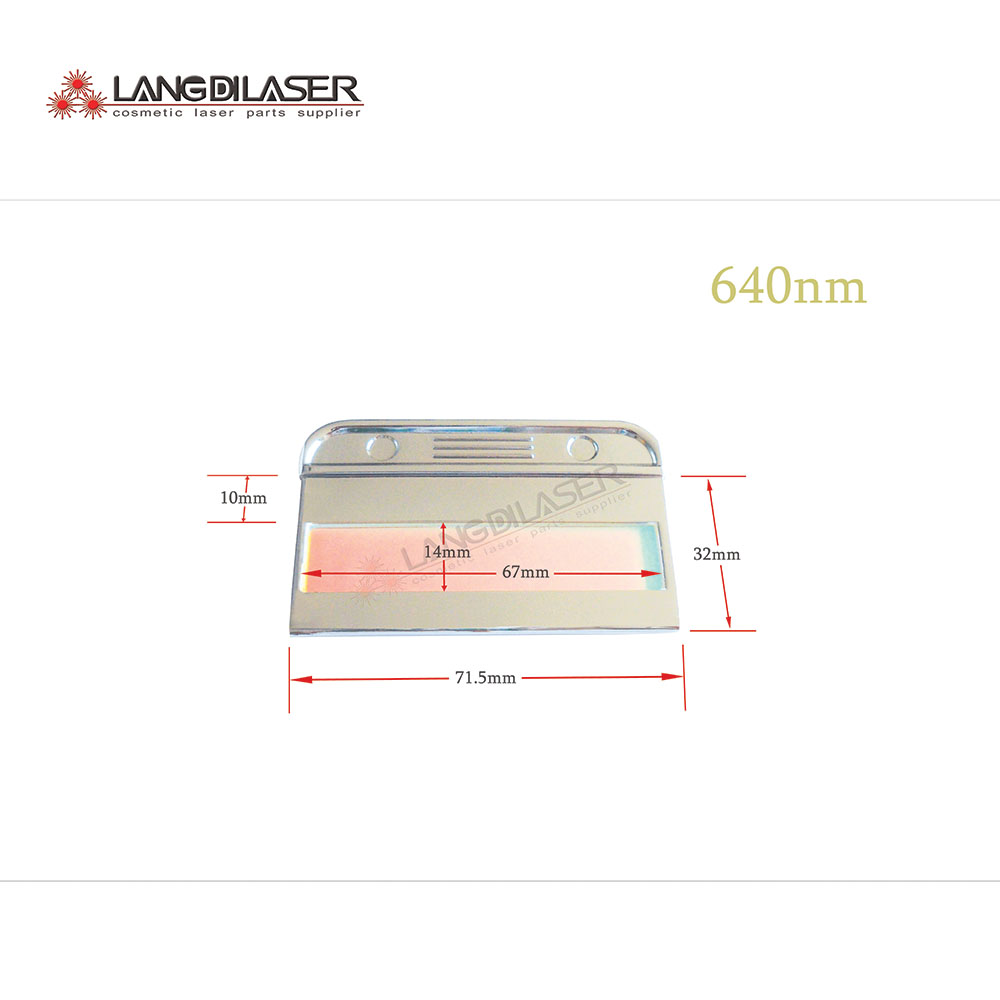 640~1200nm IPL Filters , 640nm Filters , Optic Filter For IPL , Permanent Hair Removal