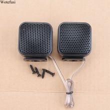 Wotefusi автомобильный динамик аудио супер мощность Громкий Купол квадратный твитер s Черный 500 Вт твитеры Универсальный 105 дБ [QPA428]