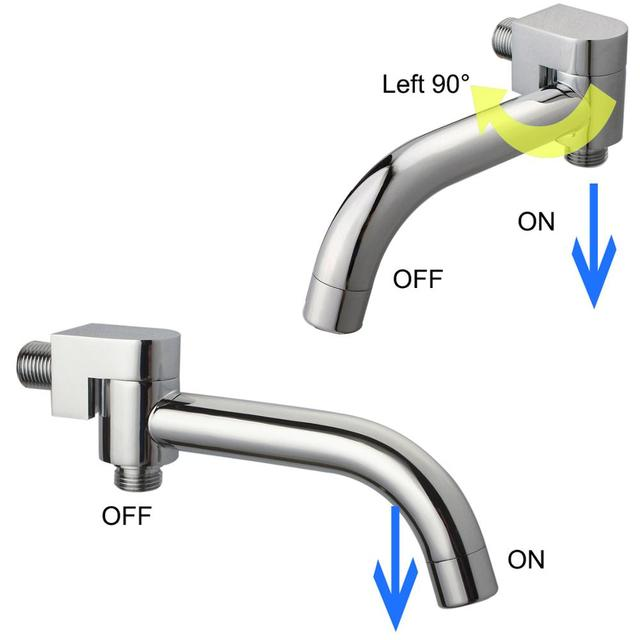 2 Function SWIVEL Bathtub Shower Diverter Spout TAP FAUCET Filler ...