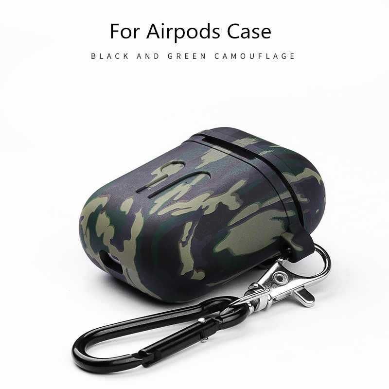 Camouflage Army Silicon Case For Airpods 2 Case Protection