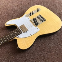 Best Chinese factory NEW!High Quality yellow guitar electric Guitar stock Electric Guitar
