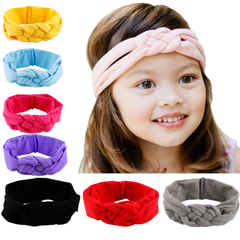 1PC Baby Kids Girls Elastic Headband Hair Accessories Toddler Head Wrap Sep22