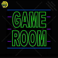Huge Game Room Neon Sign Bulb Handcraft Game Room Iconic Sign light Neon Lamps Sign store display advertise enseigne lumine