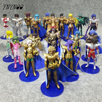 20pcs Lot Anime Saints Of Seiya Shun The Frist To Fourth Generation PVC Action Figures Collection