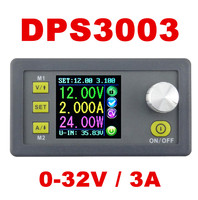 DPS3003 LCD display voltmeter Step down Programmable Power Supply module Constant Voltage current tester buck converter50%OFF