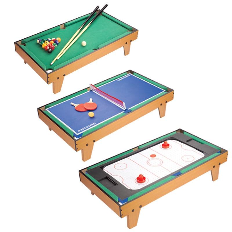 3 In 1 Kids Mini Multi Game Table Set Lifting Folding Billiard Table  Tabletop Pool Table 91.5*51*20cm In Snooker U0026 Billiard Tables From Sports  ...
