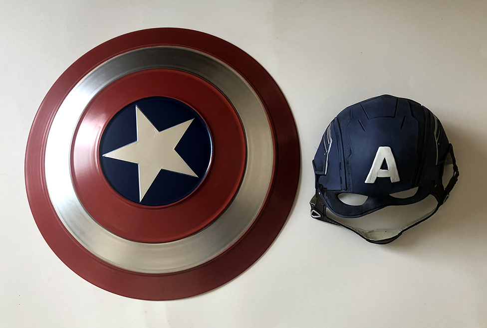Captain America Shield Cosplay Avengers Endgame Captain America Costume Accessory Steve Rogers Shield Halloween Party Props6