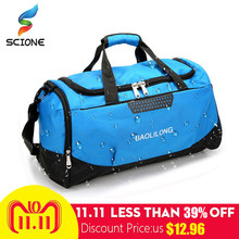 366e25f7cdc4 Professional Waterproof Large Sports Gym Bag With Shoes Pocket Men Women  Outdoor Fitness Training Duffle Bag Travel Yoga Handbag