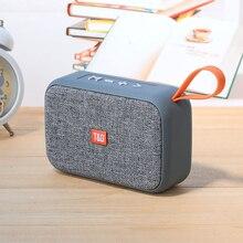 Роскошный портативный Bluetooth динамик беспроводной громкий динамик Колонка Hi-Fi стерео Спорт на открытом воздухе музыкальный плеер анти-пот с USB TF картой