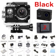 1080P WIFI 2 30fps Action Camera Sport deportiva 3 go waterproof plus hd pro 4000 camcord sj underwater Waterproof Cam