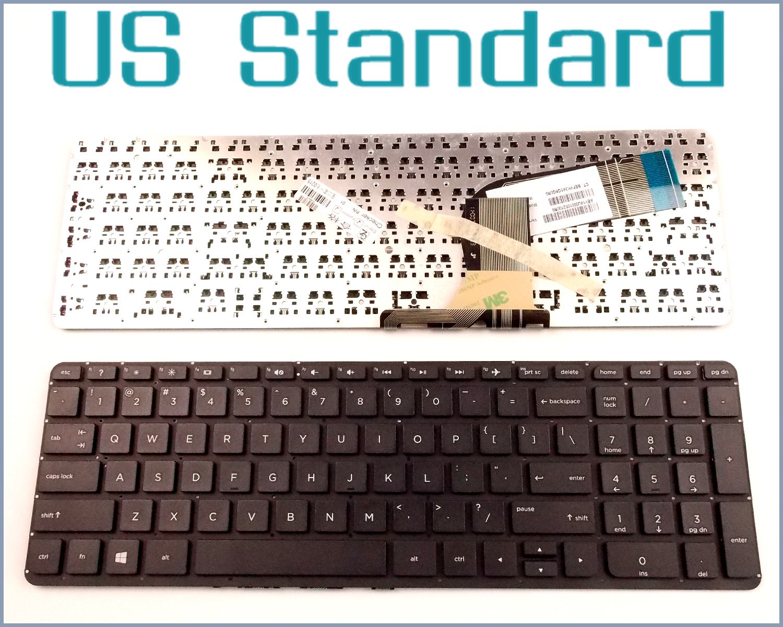 US English Version Keyboard for HP Pavilion 15-p168ca 15-p184ca 15-p187ca  15-p263ca 17-f010 17-f215dx 17-f230nr Laptop