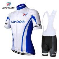 2019 KUWOMAX lato jazda na rowerze Jersey zestaw oddychająca wyścigi sportowe koszulka na rower jazda na rowerze odzież krótki MTB rower jazda na rowerze Jersey zestaw. w Zestawy rowerowe od Sport i rozrywka na