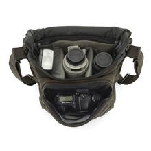 Szybka wysyłka oryginalna Lowepro Pro Messenger 180AW DSLR zdjęcie z kamery worek torba na ramię z pokrowcem na każdą pogodę tanie tanio NoEnName_Null DSLR Camera Uniwersalny Torby aparatu Torebki NYLON
