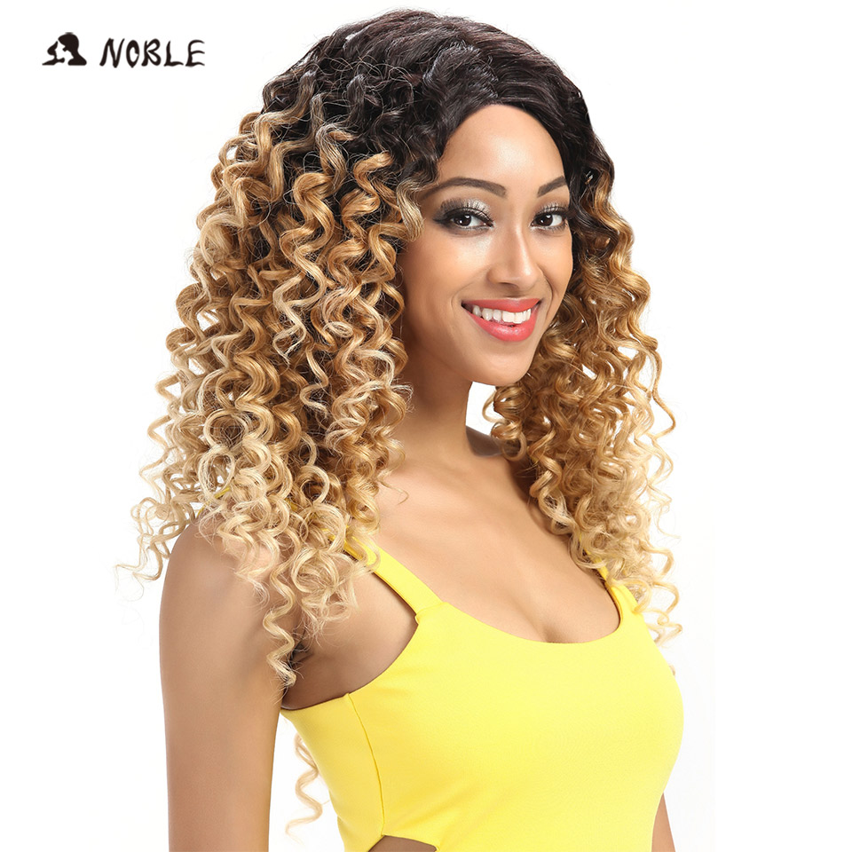 Noble Loose Wave Lace Front Περούκες 26 ιντσών Long - Συνθετικά μαλλιά - Φωτογραφία 2