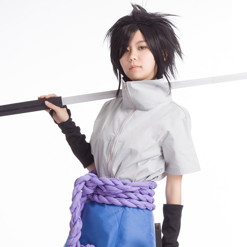 Milky Way Anime Uchiha Sasuke Cosplay Costume Sasuke 4th Generation Uniform Set for Halloween Full Set
