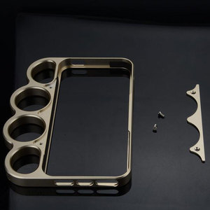 Image 2 - إطار حماية من سبائك الألومنيوم 100% لهواتف iPhone 5 5s ، خواتم لورد عصرية ، مقابض للأصابع ، غلاف لهاتف iPhone 5G SE