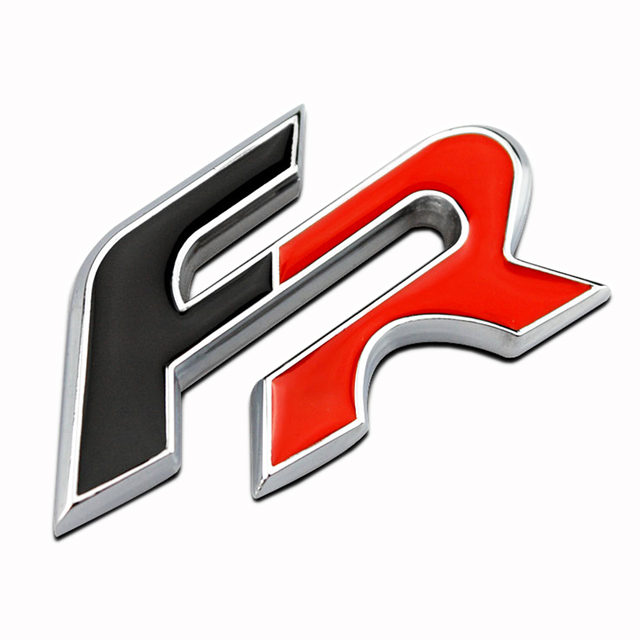 Sticker Metal D Fr Car Sticker Emblem Badge For Seat Leon Fr Cupra Ibiza Altea Exeo