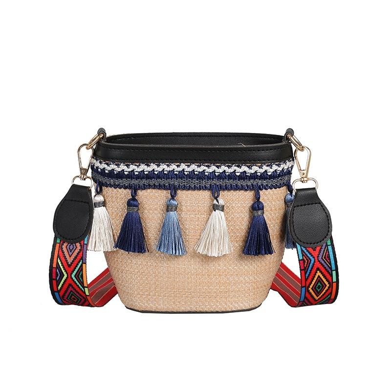 Summer Crossbody Rattan Bag   2