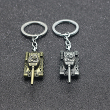 WOT World Tank Keychain 46G Heavy Punk Weapon 3D IS Series Men and women Ring Personality Car Key Gift