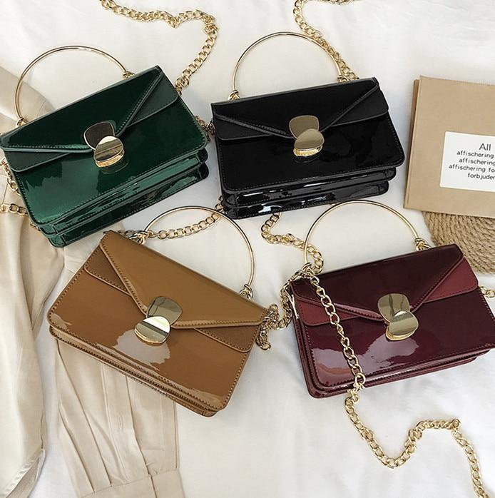 598207aee20e Винтаж модные сумки 2019 из искусственной кожи женские дизайнерские  стереотипы Ahoulder сумка квадратный телефон