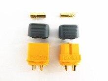 цена на 10pcs/lot Original Amass XT60 XT60H Bullet Connectors Plugs Male Female FOR Lipo Battery