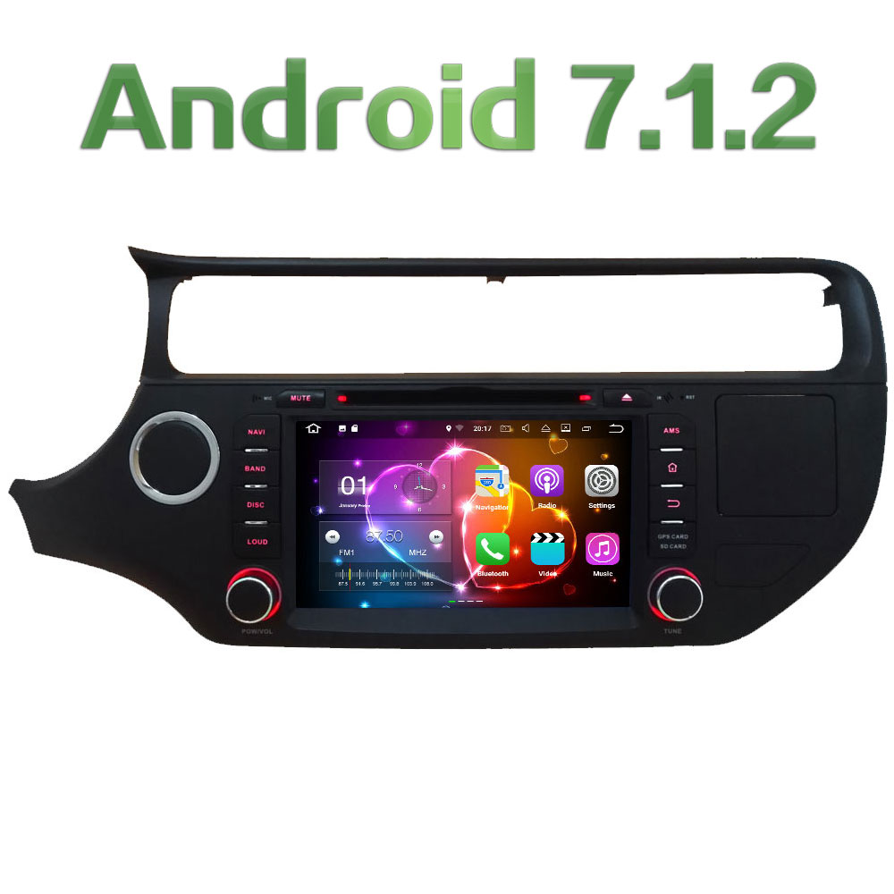 8 Quad Core Android 7 1 2 2GB RAM 3G 4G WIFI DAB RDS SWC Car
