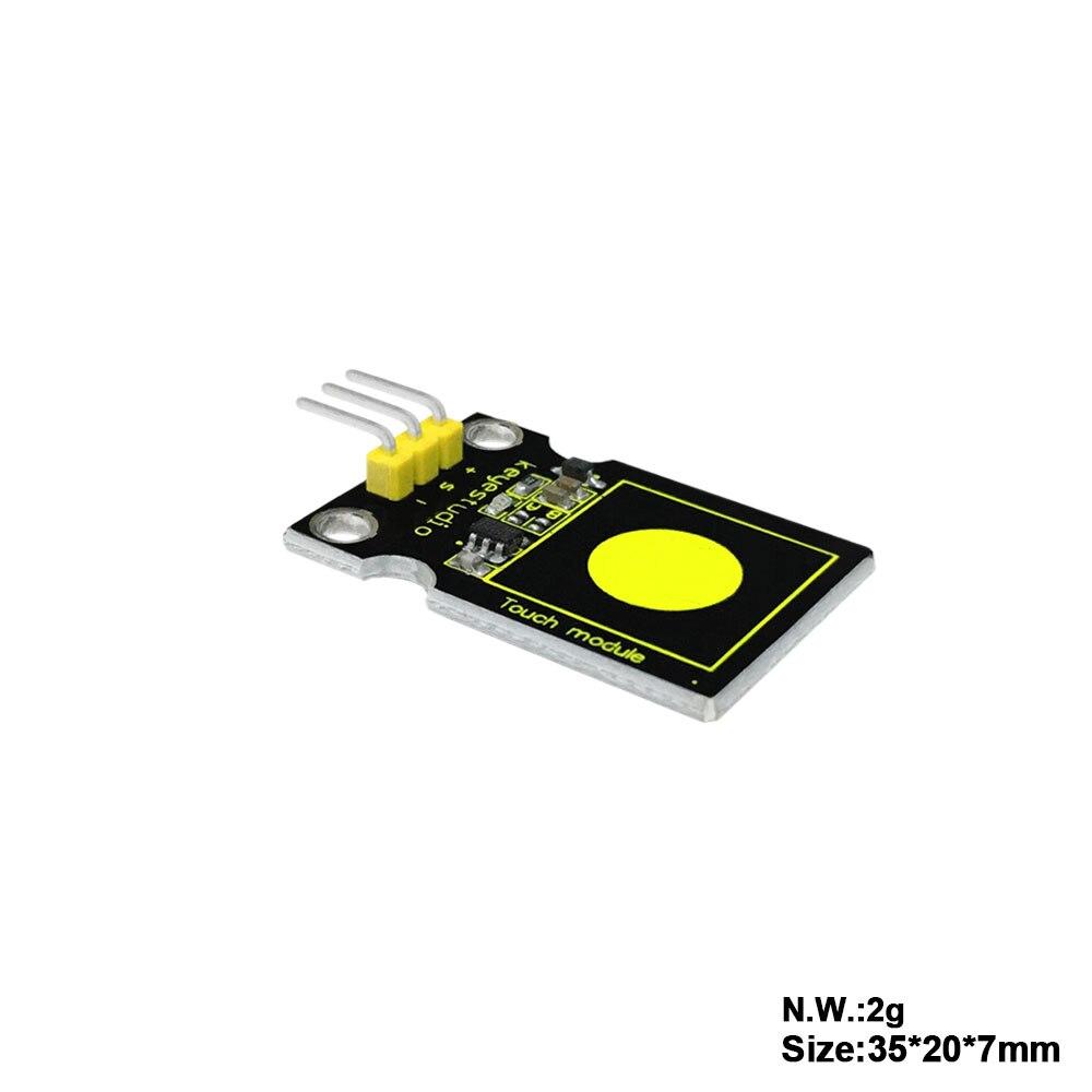 Darmowa dostawa! Keyestudio pojemnościowy czujnik dotykowy moduł dla Arduino