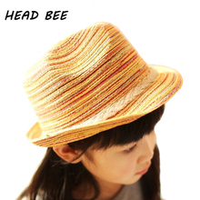 HEAD BEE font b 2018 b font Sun Hat Boy Camouflage Children Summer Cap Sunbonnet