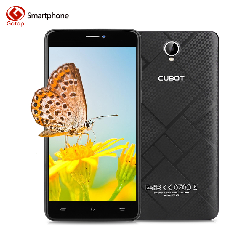 bilder für Original CUBOT MAX 6,0 Zoll handy Android 6.0 MT6753A Octa Core-Handy 3 GB RAM 32 GB ROM 4100 mAh 4G LTE Smartphone