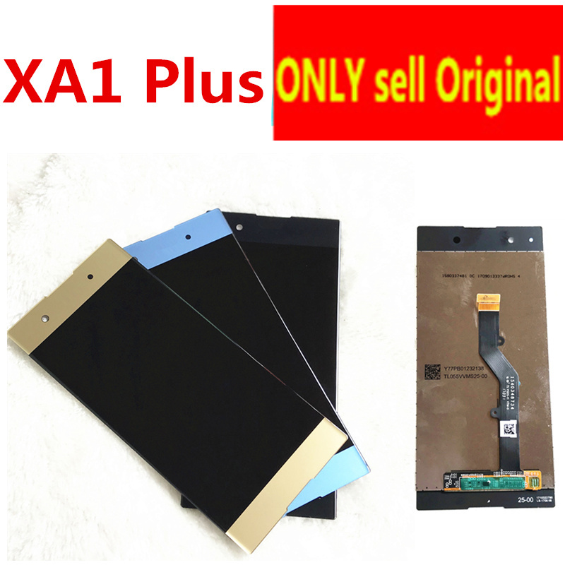 5.5 Original LCD For Sony Xperia XA1 Plus Display G3412 G3416 G3426 G3412 G3421 LCD Screen Touch Glass Digitizer Assembly5.5 Original LCD For Sony Xperia XA1 Plus Display G3412 G3416 G3426 G3412 G3421 LCD Screen Touch Glass Digitizer Assembly