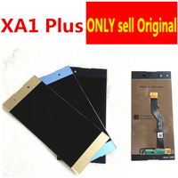 5.5 Original LCD For Sony Xperia XA1 Plus Display G3412 G3416 G3426 G3412 G3421 LCD Screen Touch Glass Digitizer Assembly