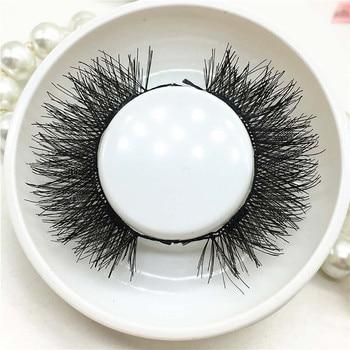 Women's Fashioh Handmade 1 Pair 3D Magnetic False Eyelashes Lashes Reusable Fake Eyelashes Makeup Beauty Magnet Drop Shipping Beauty Essentials