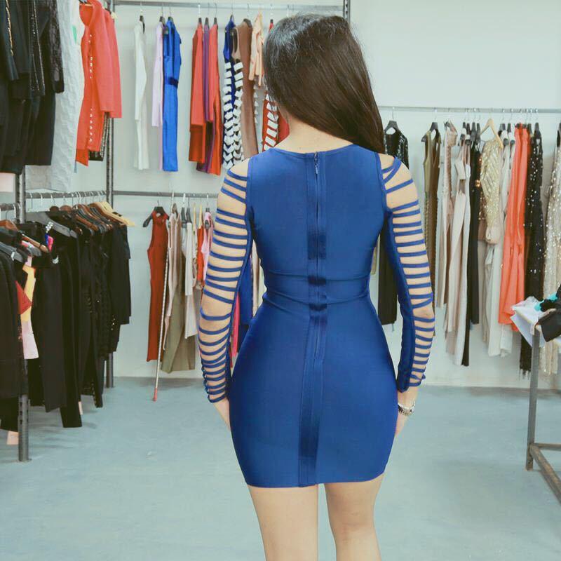 Rosso Dress Al bianco Blue Del Abito Ginocchio Dropshipping Arriva Di Partito Delle Collar Alta Vestito Donne Nuovo Square Estivo Qualità All'ingrosso Da 86xq1PwR