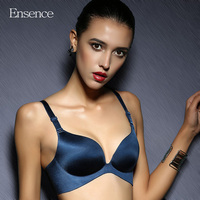 Ensence Luxury Healthy Wireless Bralette Bras For Women One Piece Glossy Seamless Deep V Sexy Small