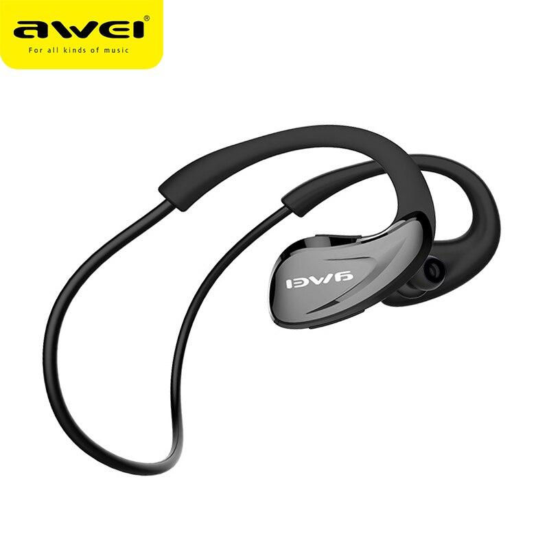 Awei A880BL Auricolare Bluetooth Cuffie Senza Fili APT-X Sport Auricolare Kulakl A Cancellazione di Rumore Senza Fili hifi fone de ouvido