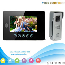 -V70T2-M3 1V1 XSL Manufacturer 2016 7Inch Touch-Keys Video Door Phone for Apartments Home Security with Intercom System