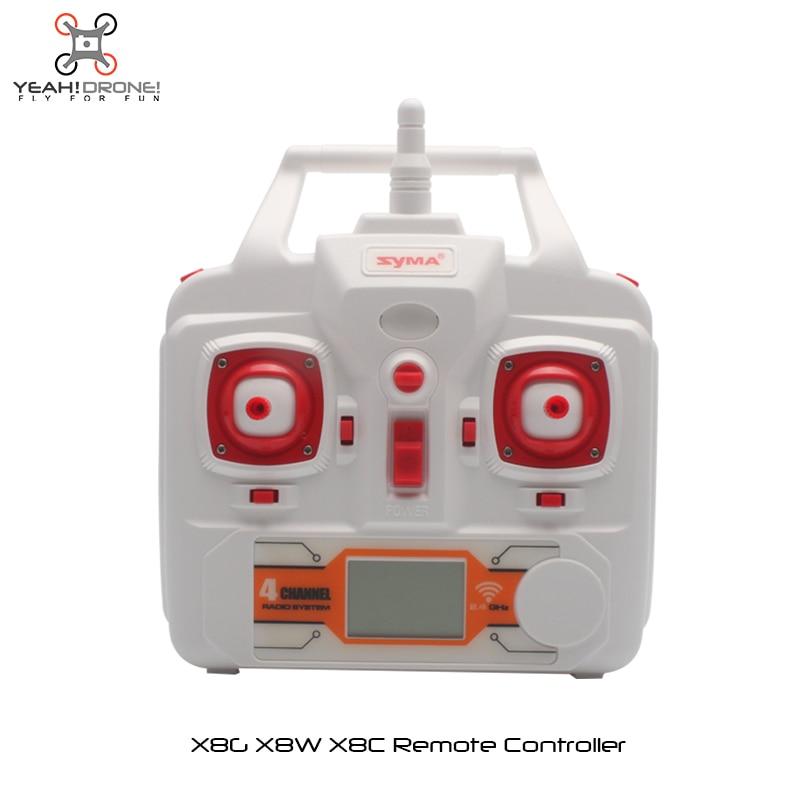 100% Original Syma X8C X8W X8G Remote Controller / Transmitter Drone Spare Parts RC Quadcopter Accessories - YeahDrone DIY & FPV store