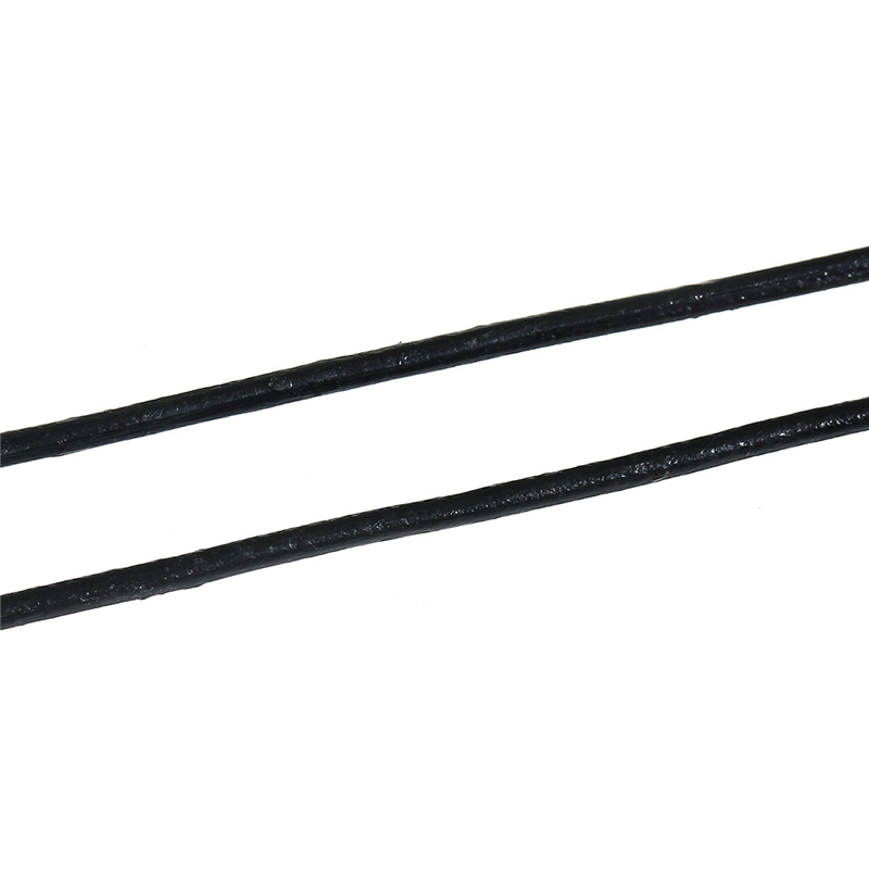"""3149-5//8/"""" Black Waxed HOT Cotton Cord 0.5mm Dia 80M for Bracelet// Necklace"""