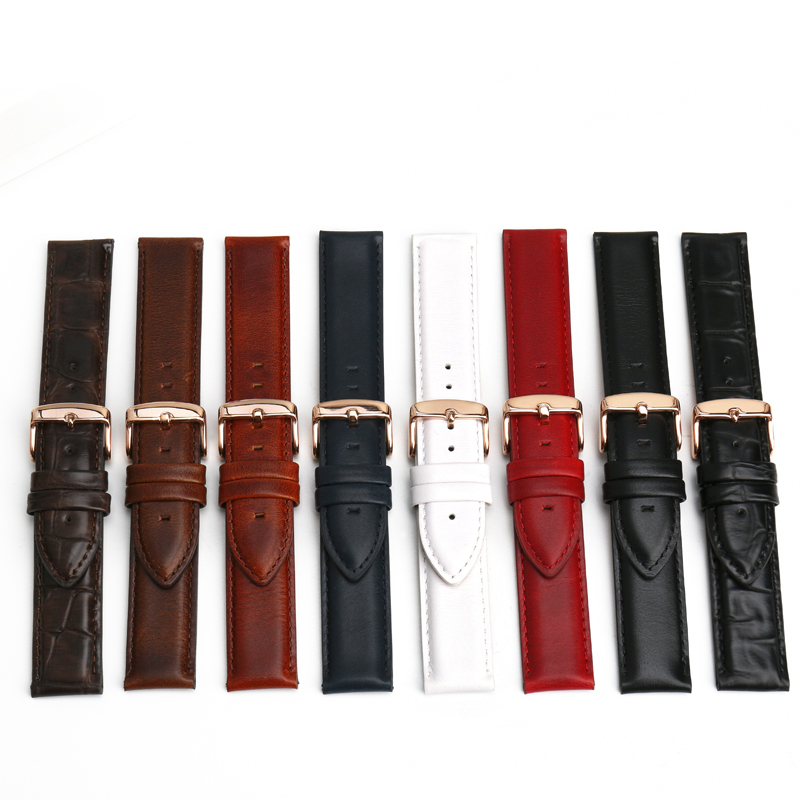 MAIKES Fashion New Watch Accessories Simple White Watch Bands Men Or Women Strap Watchband For Daniel Wellington DW Bracelets