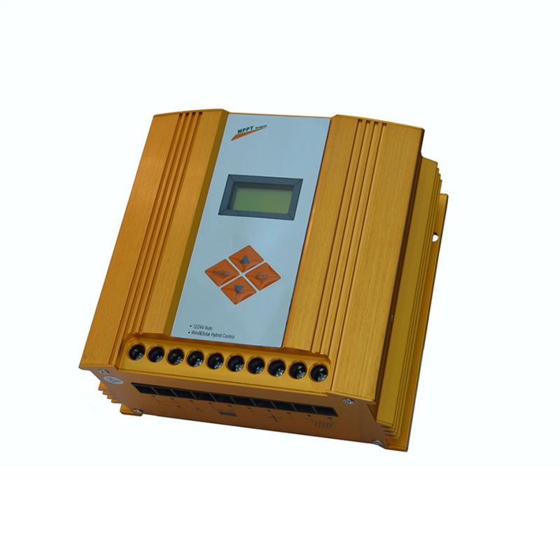 MAYLAR@ 12V/ 24V Auto Wind&Solar Hybrid MPPT Controller,LCD Display,Wind Turbine(100W-600W)+Solar Panel(150W-360W) 600w wind solar hybrid controller 400w wind turbine 200w solar panel charge controller 12v 24v auto with big lcd display