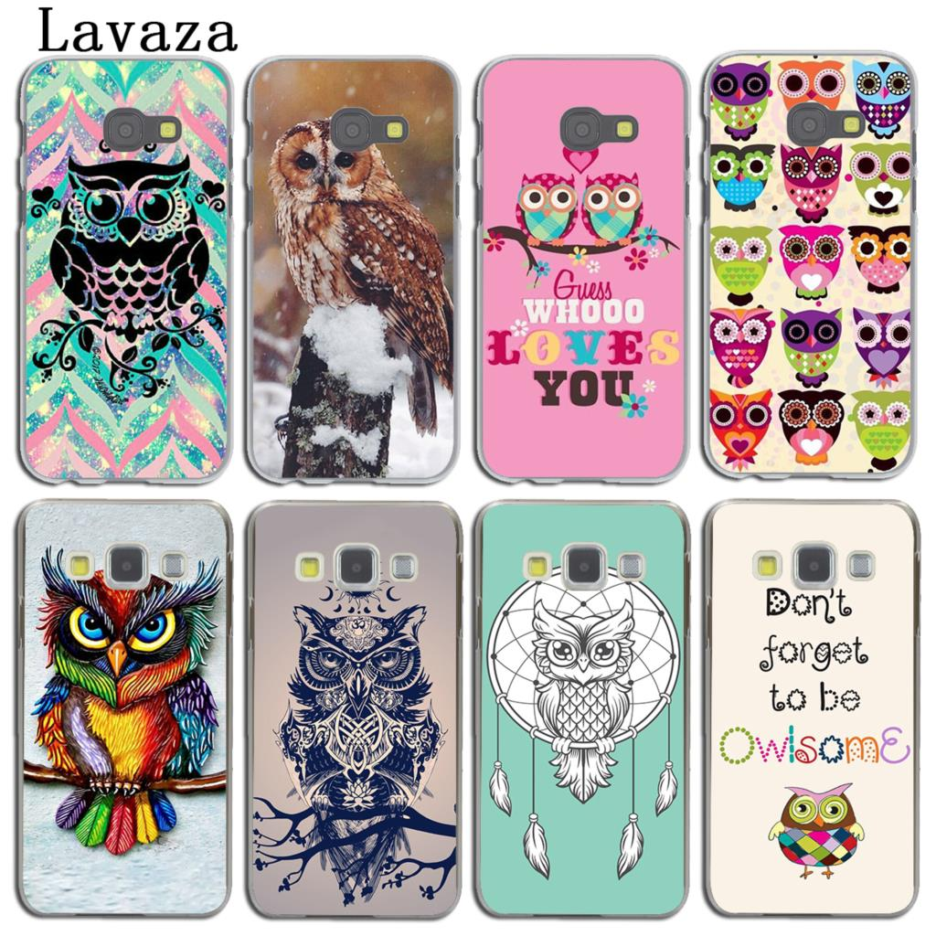 Cartoon Sleepy Owl Pattern Soft Tpu Case For Iphone X 4 4s 5 5s 5c Casing Softcase Motif Lavaza Art Lovely Phone Cover Samsung Galaxy A5 A3 2015 2016 2017 A8
