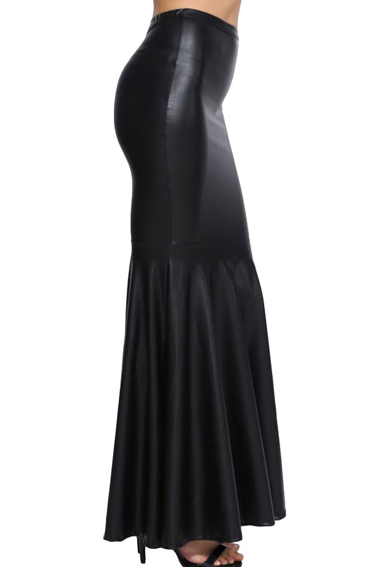 Woman-Big-Plus-Size-8XL-Maxi-Long-Black-Faux-Leather-Skirt-Women-Saia-Longa-Femininas-Ladies (1)