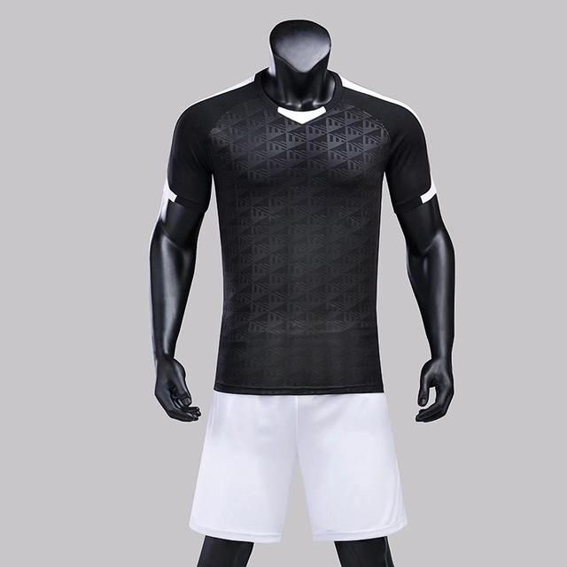 official photos 824fb cf599 US $13.99 20% OFF|Blank football uniform Soccer training suit football  Jerseys Running sportswear set men's short sleeved Soccer Jerseys &  shorts-in ...