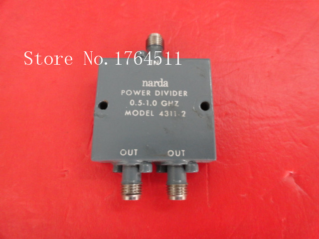 [BELLA] A Two Narda Power Divider 4311-2 0.5-1GHZ SMA
