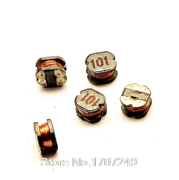 10//20PCS CD54 2.2-470uH 101 SMD Power Inductors Diameter:5mm high:4mm